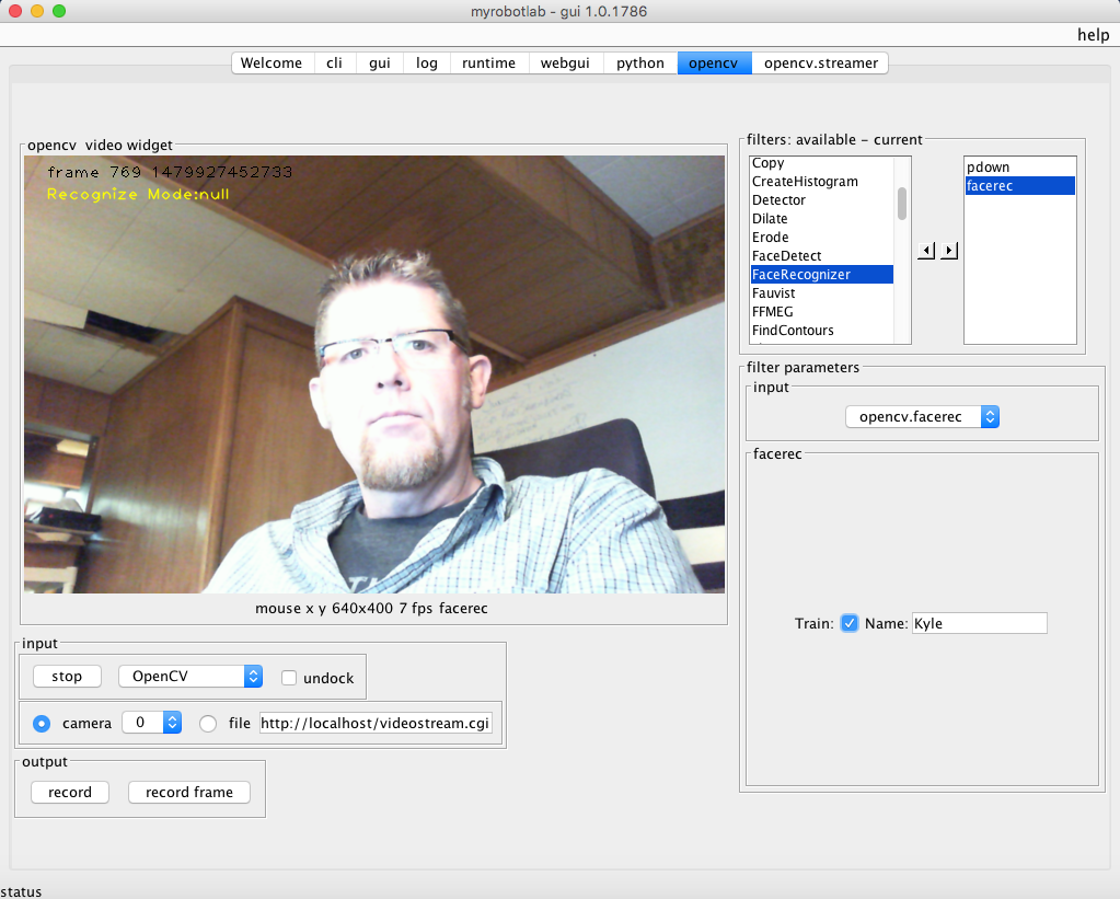 Getting No Recognition: OpenCV/Face Recognition/OSX(Mac