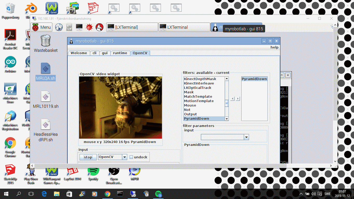 OPENCV 3 0 0 AND JAVACV1 1 BUILT AND WORKY ON RASPBERRY 2