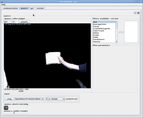 Kinect Video Stream Masking | Let's Make Robots! | RobotShop