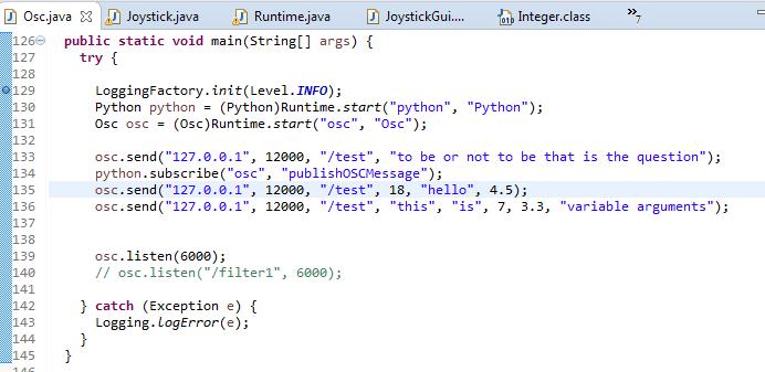 Using a new java library in jython   http://myrobotlab org