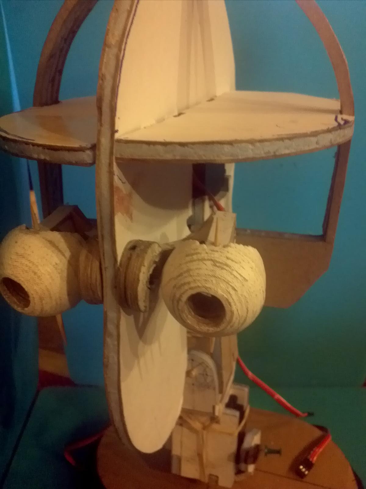 Cardboard Robots my Head Robot in Cardboard