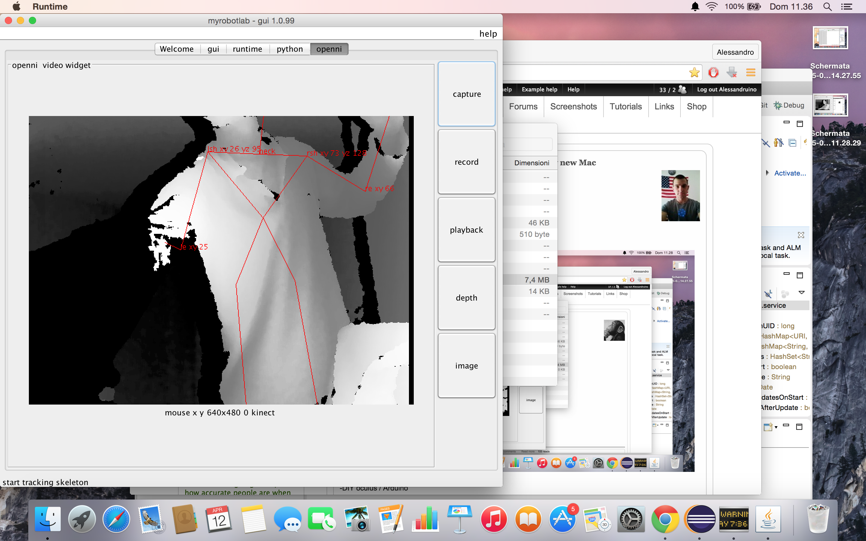 On the way of making my inmoov totally worky on my new Mac | http